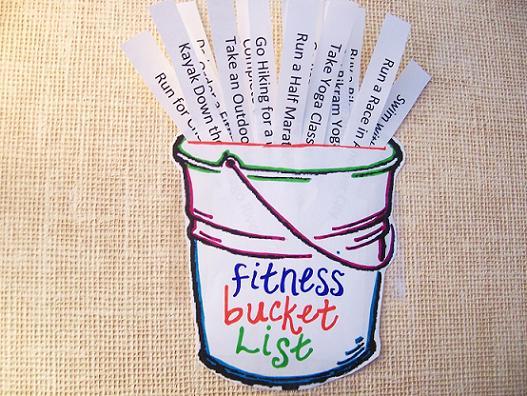 Agape Love Designs: Fitness Bucket List